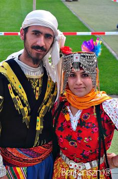 Kurdish Boy and girl in traditional kurdish clothing by Beritan Photography, via Flickr