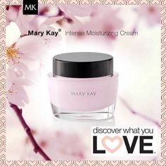 Mary Kay Intense Moisturizing Cream for dry skin leaves skin looking immediately more #radiant and feeling unbelievably soft and smooth.  Shop: www.marykay.com/LaShon