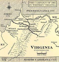Civil war battlefields West Virginia