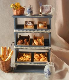 French Shabby Chic Bakery/Patisserie Display