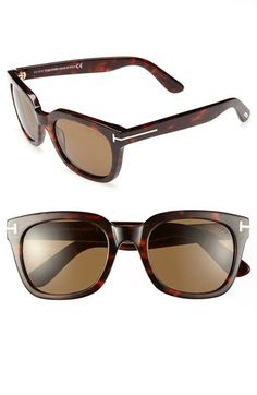 Tom Ford 'Campbell' 53mm Sunglasses | Nordstrom