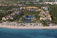 Ocean Blue & Sand resort in Punta Cana, Dominican Republic. Isn't it beautiful?