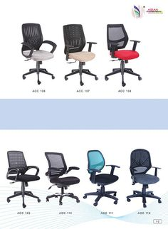 Mesh Chairs - Asian Chair Craft, Office Chairs in Ranchi, Jamshedpur, Durgapur, Kolkata