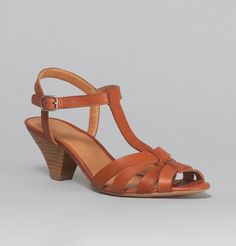 Sessun Acajou Jessy James Sandals