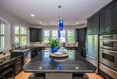 Traditional Kitchen with Wine refrigerator & Flush in Portland, OR | Zillow Digs