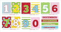 A Year's Worth of Free Printables {Free Download}