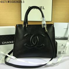 Chanel bags handbags 1 to 1 quality from replica shop, Size W35H26D13CM, Leather, Color Black #CHABAG-795, Replica shop, hryapp.com