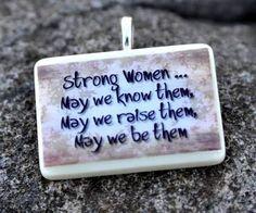 Strong women intimidate weak men!