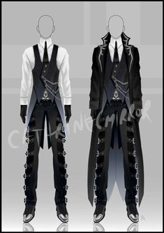 Best Drawing Clothes Male Design Reference Ideas Source by goldentigere ideas drawing Anime Outfits, Cool Outfits, Male Outfits, Drawing Clothes, Outfit Drawings, Character Outfits, Character Costumes, Character Design Inspiration, Fantasy Inspiration