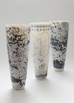 Porcelain Kitchen Craft Retro Design Egg Cup 9 X 12 X 16cm Porcelain Blue