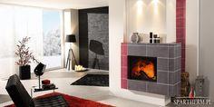 Varia 1V 4S  #interior #design #modern #kominki #piece #wklady #spartherm