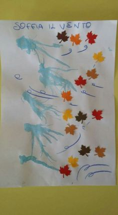 Art Activities For Kids, Autumn Activities, Autumn Crafts, Autumn Art, Diy For Kids, Crafts For Kids, Arts And Crafts, Fall Preschool, Fall Is Here