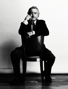 Robert DeNiro, by Nigel Parry