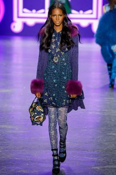 Anna Sui Fall 2016 Ready-to-Wear Fashion Show - Tami Williams