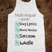 Oh very fluent in Whale. I may need to buy this in the very near future!