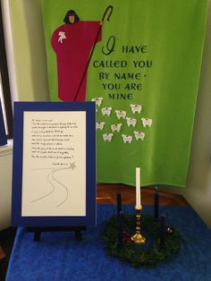 Level 2 Prayer Table set for the 3rd Sunday of Advent 2014