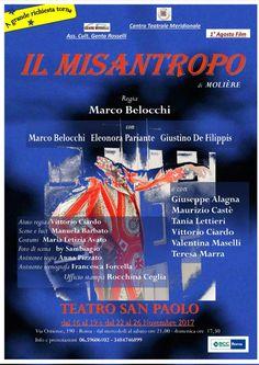 TEATRO SAN PAOLO - IL MISANTROPO Il protagonista della commedia è Alceste, uomo inflessibile, ostile alle ipocrisie che la vita nella società impone.