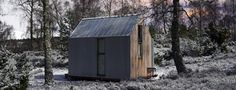 Inshriach Bothy near Aviemore represents a new generation of hut being built in Scotland. PIC: The Bothy Project. Small Buildings, Garden Buildings, Timber Buildings, Cool Sheds, Canopy And Stars, Cairngorms National Park, Anna, Bothy, London Tours