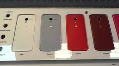 Moto X Display at the att store with all colors