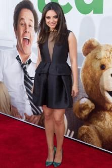 Mila Kunis at the première of Ted: Get the look now