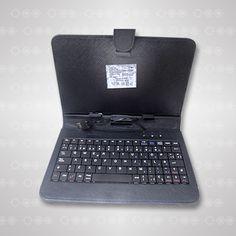 Estuche protector universal con teclado para tablets de 7 pulgadas, disponibles en colores