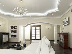 Двухуровневые потолки из гипсокартона своими руками: инструкция и ...
