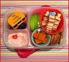 The Lucky Lunchbox: Lasagna cups...