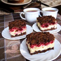 Sernik z wiśniami | Świat Ciasta