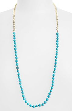 Nordstrom Semiprecious Stone Beaded Necklace available at #Nordstrom