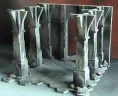 Image result for tabletop terrain pillars