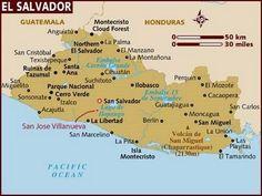 El Salvador está situado en Centroamérica. Es uno de los países de la zona con menos turismo, en gran parte por los conflictos de los últimos años. En la actualidad eso está cambiando poco a poco.  La mayor parte de los turistas viajan a la Costa del Sol a disfrutar de sus playas