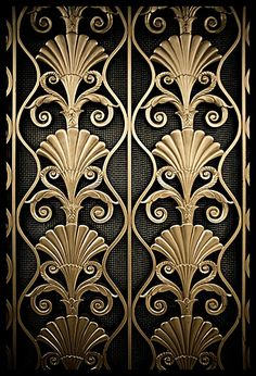 Art Deco Detail, Waldorf Astoria Hotel, NYC | Darny via flickr