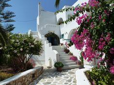 Entrance Villa Naxia, naxos, Greece