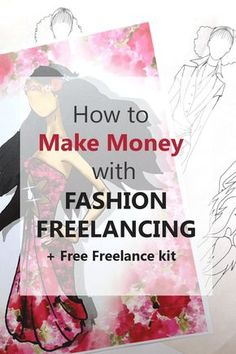 Career in Fashion Design: How to start freelance and make money (+free freelance kit) - Fashion design drawings - Fashion Illustration Tutorial, Fashion Illustration Sketches, Fashion Sketches, Illustration Techniques, Dress Sketches, Medical Illustration, Art Sketches, Design Tutorials, Drawing Tutorials