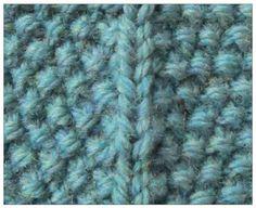 TECHknitting: Increasing in seed stitch (and decreasing in seed stitch, too!)