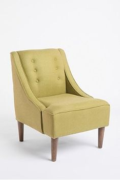 Urban Outfitter Madeleine chair, olive