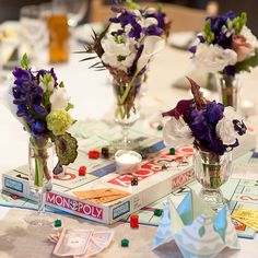 Gamer Themed Wedding from Contrast Studio « Real Weddings Magazine Real Weddings Magazine. Flower Factory.