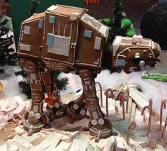 Gingerbread Houses Inspired by Disney Movies