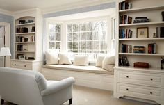 window seat with storage | Window Seats | Decorum