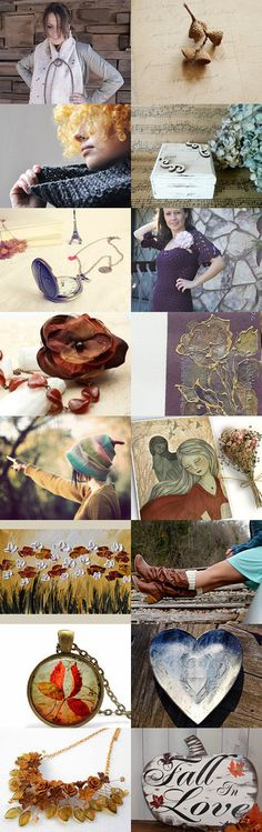 Fall in Love by Lora on Etsy--Pinned with TreasuryPin.com