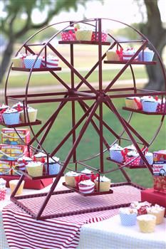 Ferris Wheel Cupcake Stand Rental In San Diego A Kids Love The