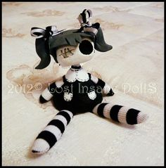 ✖ Lost Insane Dolls ✖  Handmade in Spain. Very Tim Burton. Not easily acquired, but I am a sucker for this kind of thing.