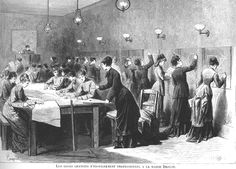 free school for women during siege 1870-1871