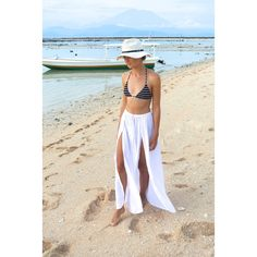 Salah Maxi Skirt Boho Skirt Soft White Voile Maxi Skirt ($29) ❤ liked on Polyvore featuring dresses, silver and women's clothing