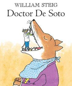 Doctor De Soto by William Steig http://www.amazon.com/dp/B00BU3SXKU/ref=cm_sw_r_pi_dp_EgGIvb18DHWG8
