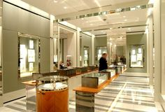 Redesign of the Mayfair store to conicide with their relaunch, that was developed further across their store portfolio. Jewellery Exhibition, Hospitality, Projects To Try, Commercial, Retail, London, Luxury, London England, Sleeve