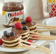 Image in food&drink🍹🍰🍩☕🍭🍫🍗🍲🍛🍝🍟 collection by Naz #breakfast #dessert #nutella #sweet #chocolate #fruit #pancakes #food #delicious #food #mmm #instafollow #yummy #share
