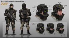 Future soldier concept by AlbyU.deviantart.com on @DeviantArt