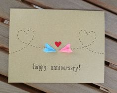 Cute idea from etsy for 1st Wedding Anniversary - paper! Definitely going to give this a go.