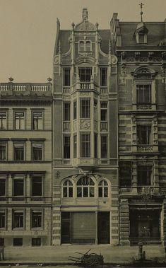Berlin, Mohrenstraße 57 (nicht erhalten). Um 1894.